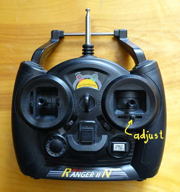 RC Transmitter Adjuct